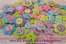 botões biscuit