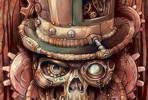 steampunk dessin