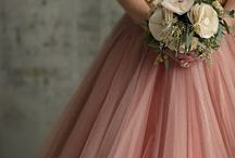 wedding pink gold