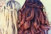 Hair style ideas / Librarian for Life + Style  |  Ideas and inspiration for different hair styles, braids, buns, ponytails / by Librarian for Life and Style