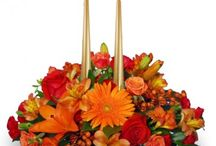 Thanksgiving / Centerpieces, cornucopias, and bouquets for the home