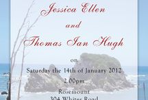 Chic Design - Invitations / Invites that I have created for my wonderful clients