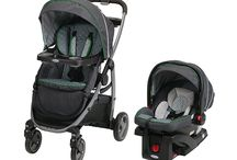 On a Stroll with Baby / #Graco strollers keep you on the go with baby.