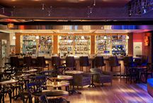 Jazz, Tx   Restaurant Design / This live-music jazz club, located at the Pearl Brewery in San Antonio, is complemented by our Edinburg Plank, which is a long leaf pine plank with a classic look. With this flooring, you can be sure your floors will hold up to a night of dancing and fun.