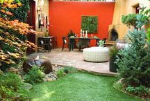 garden patio ideas ..