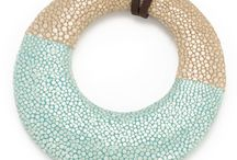 Beauty of Genuine Shagreen / Shagreen Pendants - Great any Season