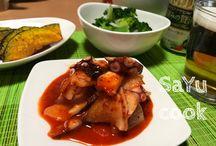 Asian Food Recipes 韓国料理多め