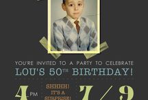 Birthday invites