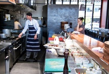 Open kitchen bar