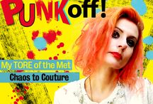 PUNK: Chaos to Couture / My review & inspiration from the PUNK EXHIBIT at the Metropolitan Museum of Modern Art in NYC.