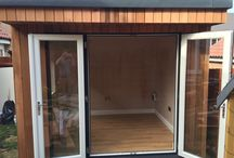 Garden Room in Northampton - 3m x 2.5m / 3m x 2.4m Studio was completed in Northampton last month. A perfect size for an office and we think it looks great!