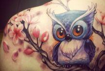 Pöllöömmät tatuoinnit