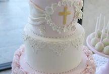 pasteles para bautizo