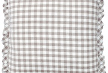 Gingham / Gingham love...classic and updated for today...perfect for home decor!