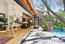 Kitchen onto Patio - spatial area