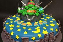 Aniversário de tartaruga ninja