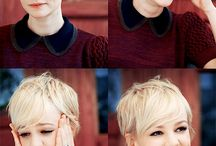Mini hair ideas / Short hair styles. From pixie to elevated bob.