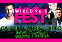 Wired Fest 2014 / Wired Fest 2014 | May 30th | Festival Pier at Penn's Landing Philadelphia, PA | DJ Vice, Iggy Azalea, Diplo, Calvin Harris + Special Guest TBA!! / by Wired 96.5