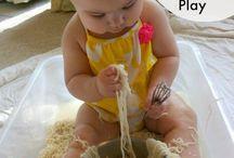 Sensory play with food