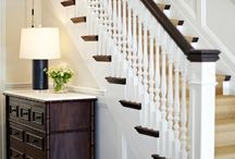 open stairs spindles