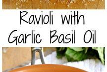 Italiensk ravioli