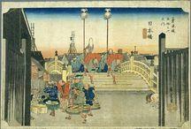 Hiroshige Woodblock Prints