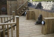 Decking / Some examples of decks done with Timber from Woodstoc. Joiners Include Direct Timber, Ed McCarroll, David Dean, Tim Marshall, Neil Henry and Declan Caldwell.