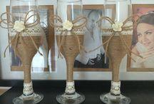 Mariage cups / 100% handmade