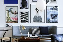 HOME ♥ [ a r t w a l l ] / Art  wall, galeries and pics