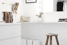 Dressingroom / Makeuproom Ideas