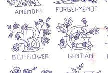 Embroidery Alphabet