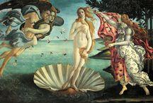 Renacimiento (obras principales) / Renacimiento dividido en dos categorias - Quattroccento  - Cinqueccento