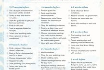 Our Cowboy Wedding  - Checklists / Making sure nothing will be left out or forgotten or missed for our big day