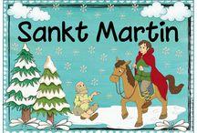 Stankt Martin in der Krippe