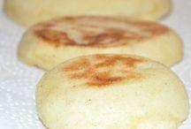 Pains marocain et pains indiens et pains normaux