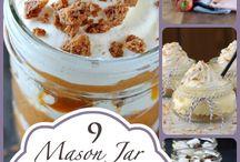 Mason jar goodies / Cooking in/with mason jars