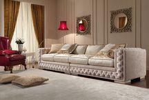 """""""CARAVAGGIO"""" Arredamento Classico Luxury - RAVASI SALOTTI / Sofas Classico"""