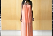 Flowing Maxi Dresses / Love the ethereal look of these designs.