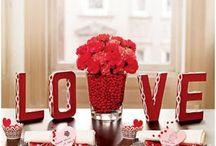 Mesas decoradas românticas