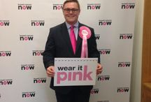 MP's wearing it pink - 2015! / Here are your elected MPs showing their support for #wearitpink and life-saving breast cancer research. Get your friends, colleagues and classmates involved >  http://bit.ly/1EV8b8k / by Breast Cancer Now