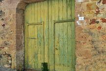 La mia collezione di porte, portoni e portoncini. - My doors collection