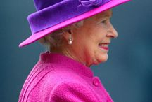 QUEEN = MANY HATS / The Queens many hats & outfits she's worn over the years. She looks pretty good for her age. She has a nice smile and her grand kids all love her!! Which speaks alot for her character!! / by Debbie Campbell