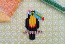 brick stitch dieren