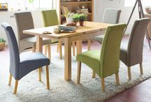 The Natural Indoors SS / Keep it light and natural in those small, cute spaces with our oak, compact dining!