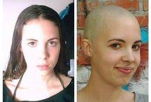 Cuties' Headshave/ Before & After / #headshave #baldgirl #baldgirls #baldisbeautiful