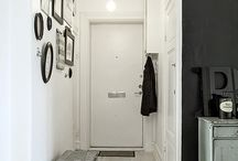 Photo gallery in the corridor
