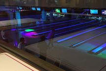 Gioco bowling and food