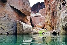 Lake Mead's photogenic features