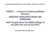 Birthmom Inspiration / Empowering Birthmoms Today with a Voice and a Choice