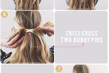 ponytale hairstyle / Haarstijl Ella